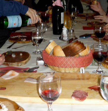 Ledro, Ιταλία: antipasti