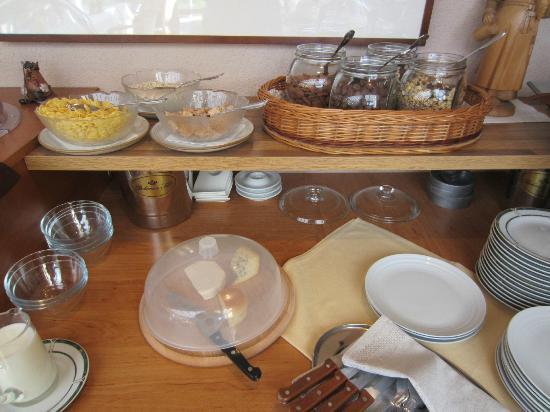 Pension Holata: breakfast
