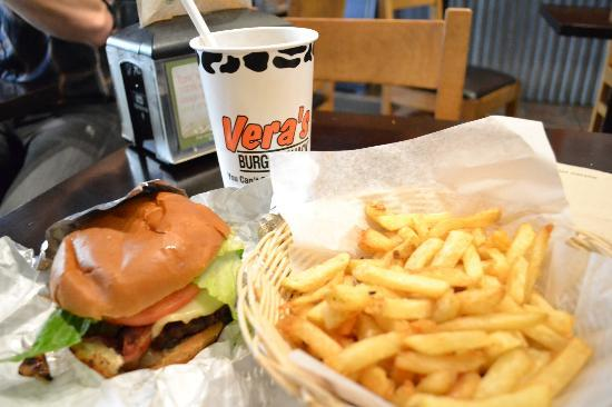 Vera's Burger Shack: ボリューミー