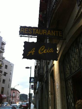 Restaurante A Ceia: Entrada