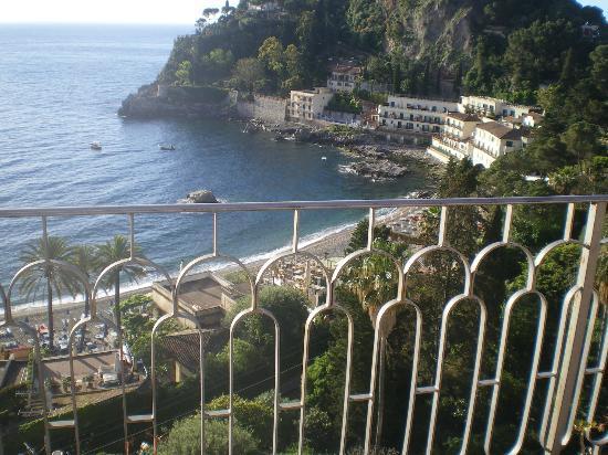 Mazzaro, Italy: vista desde la terraza