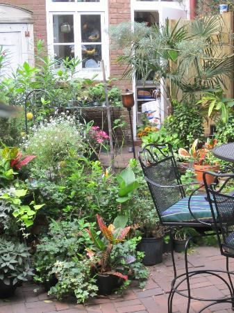 Armstrong Inns Bed and Breakfast: Courtyard