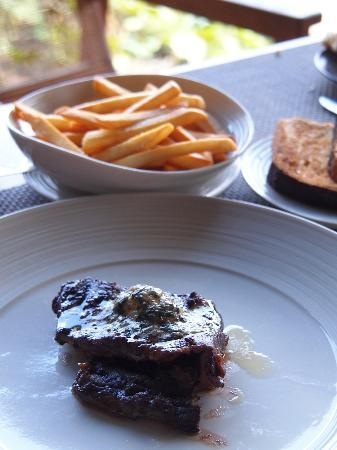Metis: Slightly burnt Steak Frites