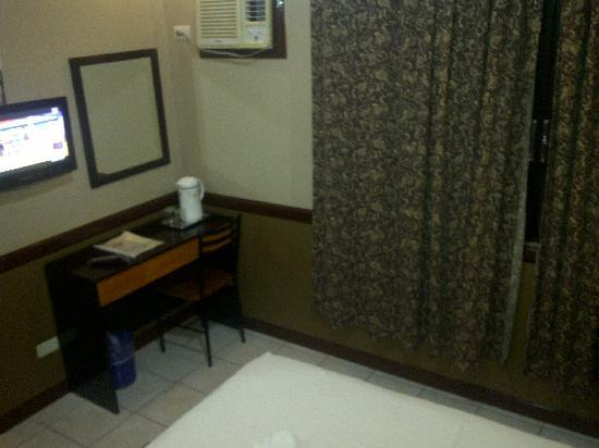 My room at Hotel Palwa, Dumaguete City