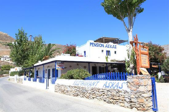 Askas Pension: Our Pension-restaurant-rent a car