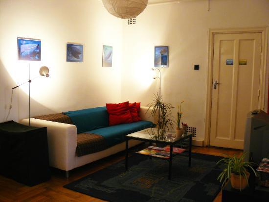 Activity Hostel : lounge room