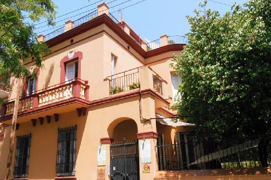 Feetup Garden House Hostel Barcelona: Entrada
