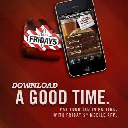TGI Friday's: Download our new Mobile App