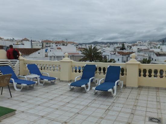 Apartamentos Balcon de Carabeo: Roofterrace.