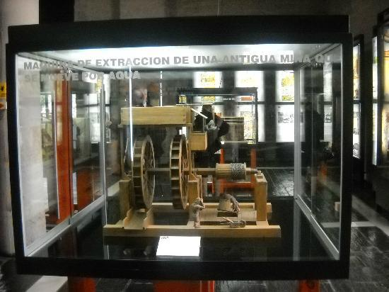 Museum of Mining and Industry: maquinas