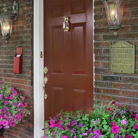 Cresson House Bed & Breakfast: Front entrance