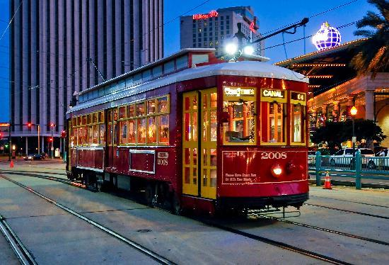RTA - Streetcars: Modern Streetcar on Canal Street