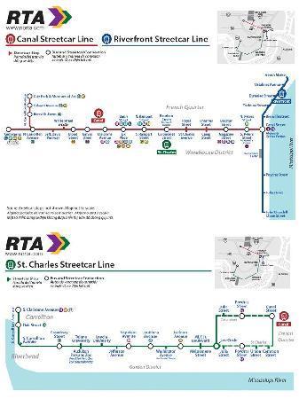 RTA - Streetcars: RTA Streetcar Line Maps