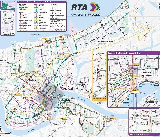 Rta System Map Picture Of Rta Streetcars New Orleans Tripadvisor