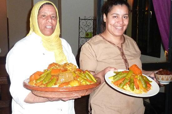 Villa Abalya: excellente cuisine et sourire marocain