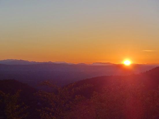 Entre Azur et Maures : sunset