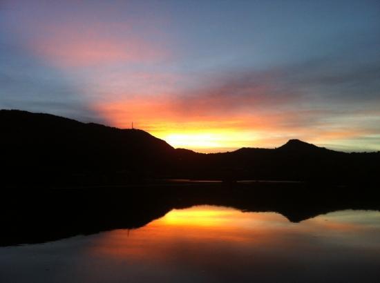 Salines, St. Barthélemy: l'esprit's sunset