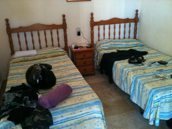 Las Torres Apartments : two of the four beds