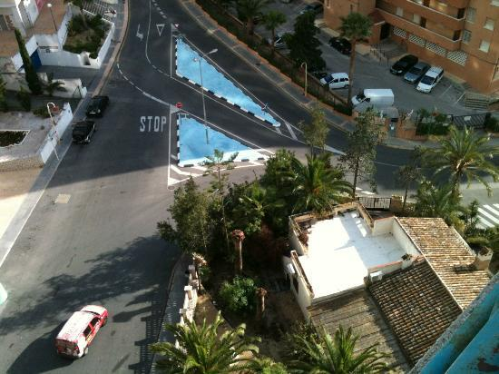 Las Torres Apartments : pic from balcony