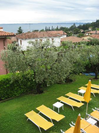 Villa Ca Nova : vue de la chambre