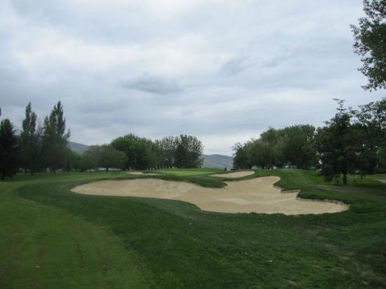 Kamloops Golf and Country Club: Kamloops 17th hole