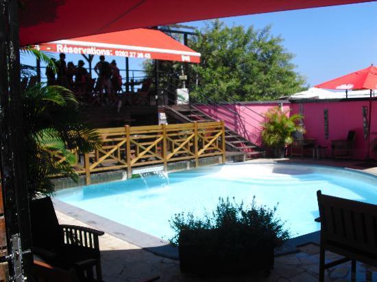 acc s terrasse panoramique photo de l acacia saint gilles les bains tripadvisor. Black Bedroom Furniture Sets. Home Design Ideas