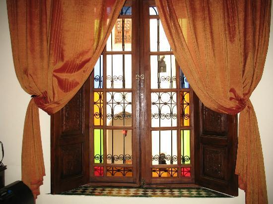 Riad Ahlam: La fenêtre de notre chambre