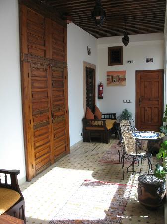 Riad Ahlam: le balcon d'une suite
