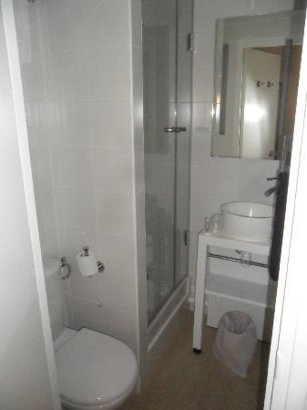 Ibis Styles Paris Maine Montparnasse : Micro bathroom