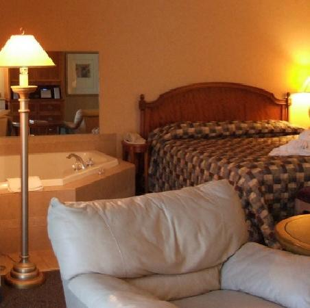 Skaneateles Suites Hotel Room