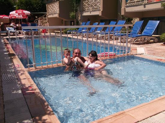 Blue Palace Apartments: Myself and Grandchildren in the childrens pool