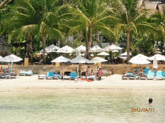 Novotel Samui Resort Chaweng Beach Kandaburi: blick vom meer
