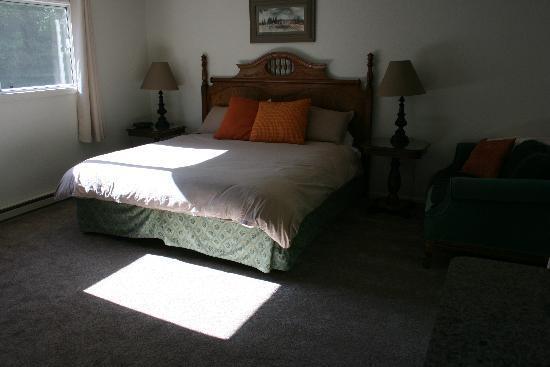 San Juan Chalet: Lower king room
