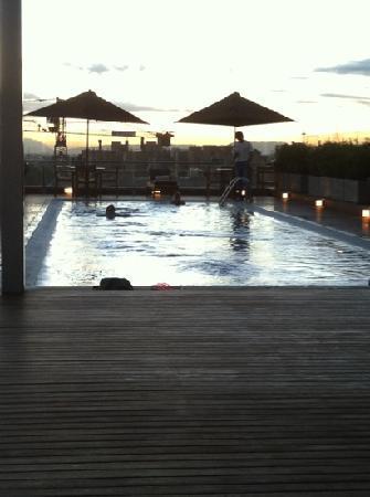 Cite Hotel: roof top Cite