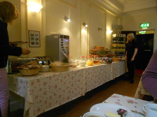 Astor Court Hotel: Morgenmadsbuffet