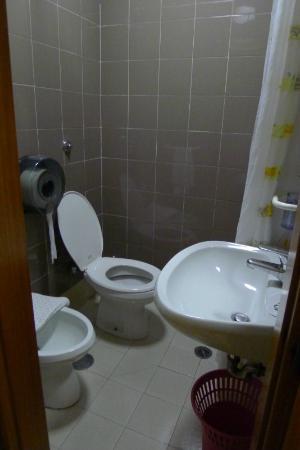 Hotel Hermes: Toilet