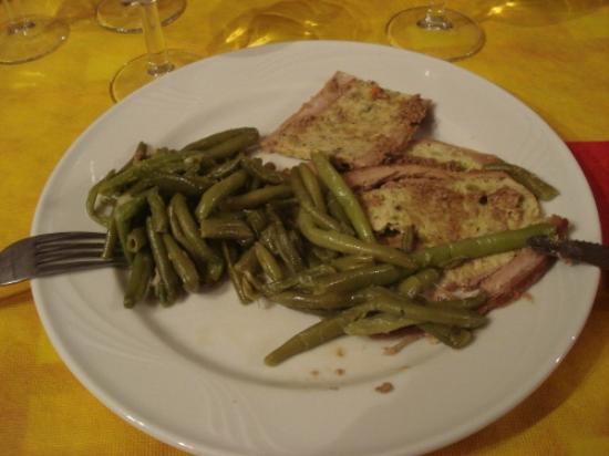Agriturismo La Mussia: Nochmal prima Abendessen