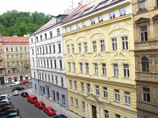 View from room 302 window picture of hotel mala strana for Best hotels in mala strana prague