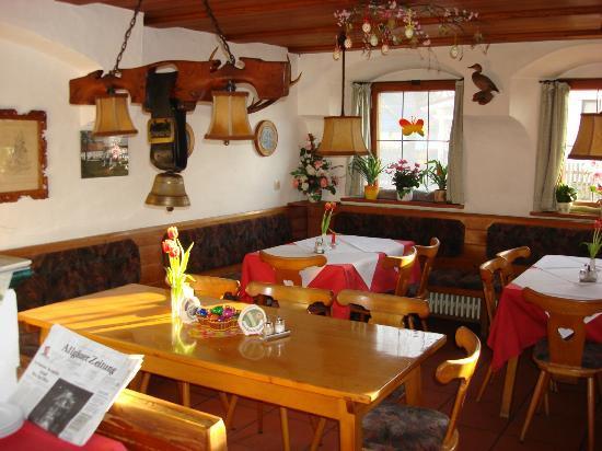 Gasthof Pension Adler Sameister: Restaurant