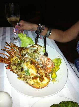 Don Pepe Restaurante: Grilled Lobster