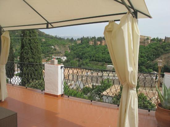 Las Tres Terrazas: Terrace