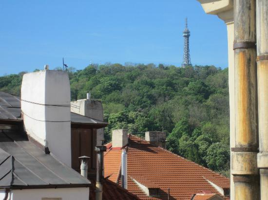 Residence Thunovska 19: Apt Karl - view from room of Petrin Observation Tower