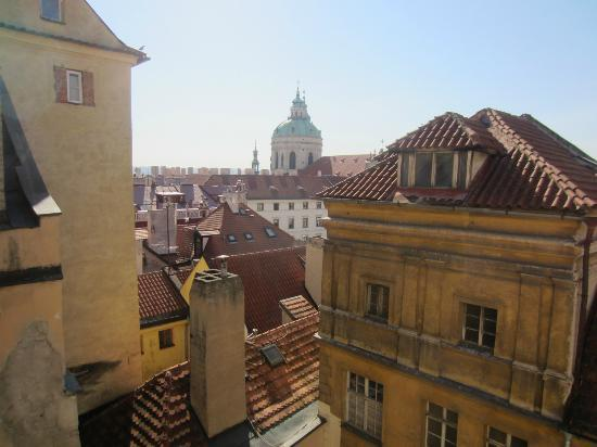 Residence Thunovska 19: Apt Karl - view of St Nicholas from room