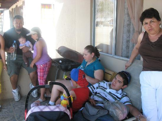 Bahia de Los Angeles: Patio de la Habitacion