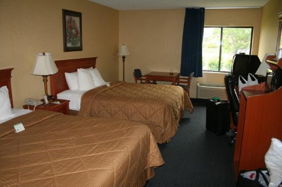 Comfort Inn Pueblo: guest room