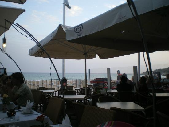 Cabana Fresca Restaurant : View from the outside terrace