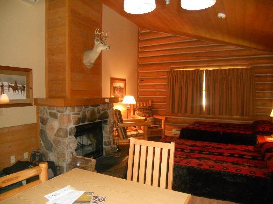 Blue Bell Lodge: Interior cabin