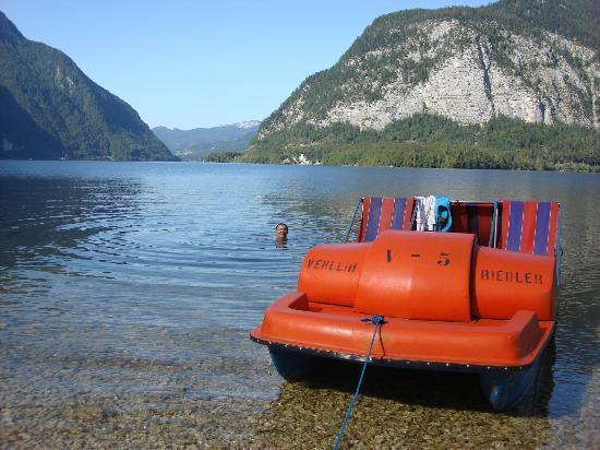 Gasthof Simony: Paddle Boat