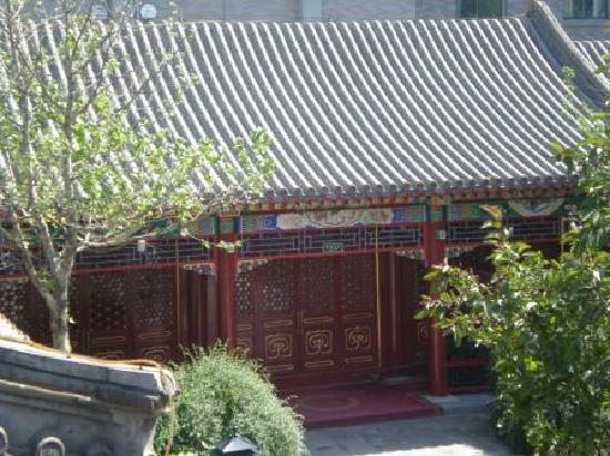 Han's Royal Garden Hotel: Blick in den Innenhof