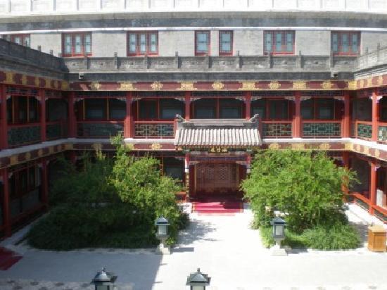Han's Royal Garden Hotel: Feudaler Innenhof